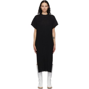 RUS Black Merino Higasa Dress
