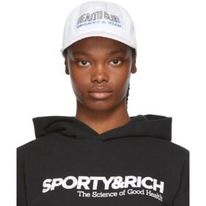 Sporty and Rich White Health Club Cap