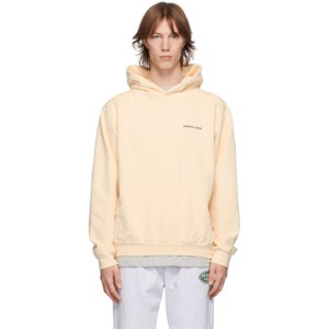 Sporty and Rich Off-White SR Sun Club Hoodie