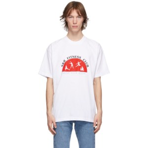 Sporty and Rich White Fitness Club T-Shirt