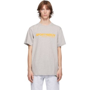 Sporty and Rich Grey Science of Good Health T-Shirt