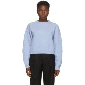 arch4 Blue Cashmere Eaton Crewneck Sweater