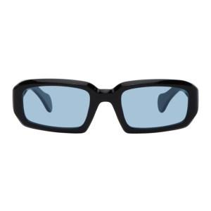 Port Tanger Black and Blue Mektoub Sunglasses