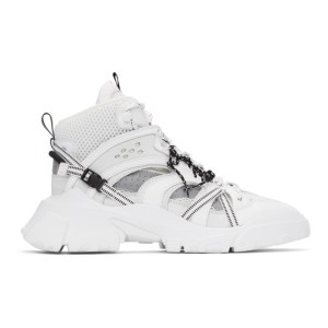 MCQ White Orbyt No. 0 Sneakers