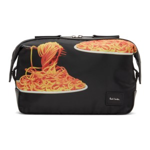 Paul Smith 50th Anniversary Black Spaghetti Wash Pouch