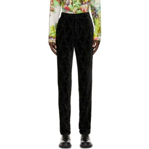Paul Smith 50th Anniversary Black Velvet Gents Trousers