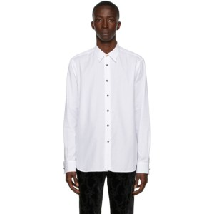 Paul Smith 50th Anniversary White Apple Tailored Shirt