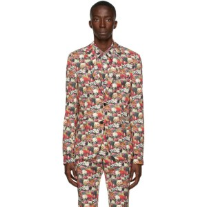 Paul Smith 50th Anniversary Multicolor Floral Blazer