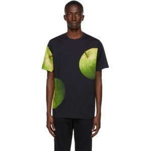 Paul Smith 50th Anniversary Navy and Green Gents Apple T-Shirt