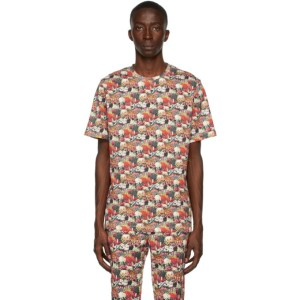 Paul Smith 50th Anniversary Multicolor Floral Gents T-Shirt