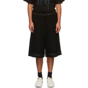 NAMESAKE Black Knit Tobi Shorts