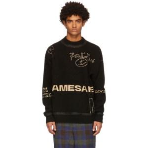 NAMESAKE Black Roots Logo Sweater