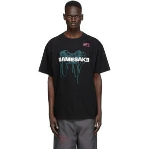 NAMESAKE Black Net T-Shirt