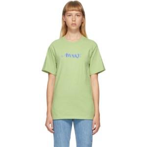 Awake NY Green Logo T-Shirt