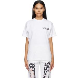 The DSA SSENSE Exclusive White NO2093 T-Shirt