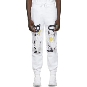 The DSA White No2150/No2318 Lounge Pants