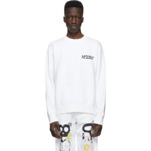 The DSA White No2355 Sweatshirt