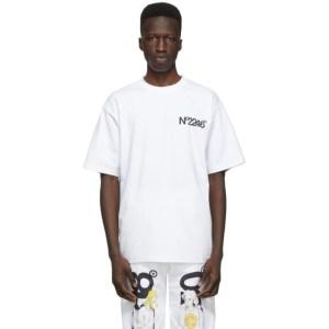 The DSA White No2246 T-Shirt