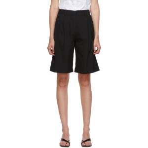 Esse Studios Black Tailored Shorts