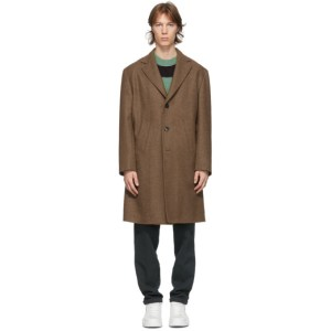DOPPIAA Brown Antistene Coat