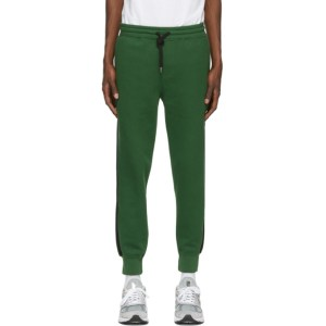 AMI Alexandre Mattiussi Green Jogging Sweatpants