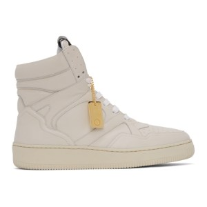 Human Recreational Services Off-White Mongoose High-Top Sneakers