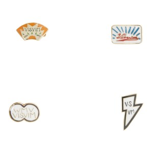 Visvim Multicolor Lapel Pin Set