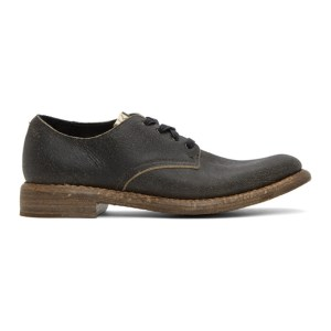 Visvim Black Hammond Folk Derbys