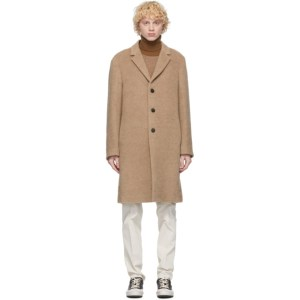 PRESIDENTs Beige Alpaca Egg Coat
