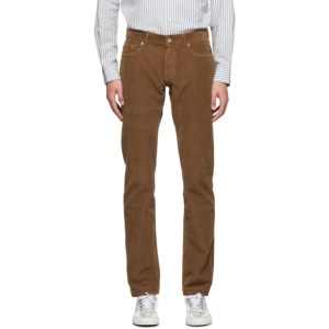 PRESIDENTs Brown Corduroy Icarus Trousers