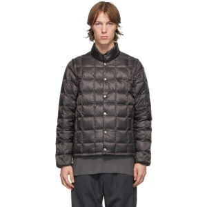 TAION Black Down Heated High Neck EXTRA Jacket