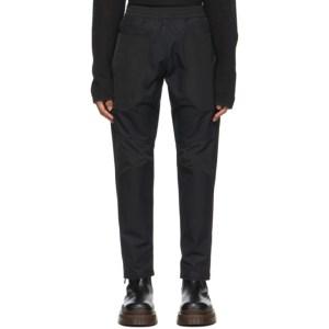 Arnar Mar Jonsson Black Patch Track Trousers