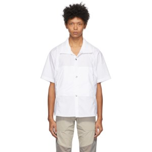 Arnar Mar Jonsson White Ventile Short Sleeve Shirt