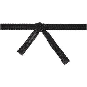 Fear of God Ermenegildo Zegna Black Braided Belt