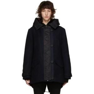 Yves Salomon - Army Navy Wool Hooded Parka