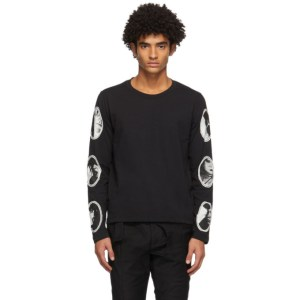 ADYAR SSENSE Exclusive Black Sheetnoise Long Sleeve T-Shirt