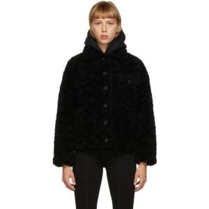 Yves Salomon - Meteo Black Wool Jacket