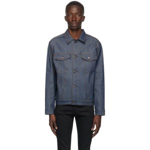 Naked and Famous Denim Blue Denim Stealth Pocket Jacket