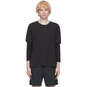 JACQUES Black Compression Long Sleeve T-Shirt