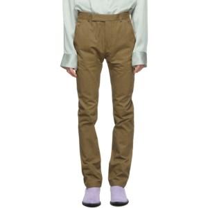 Haider Ackermann Beige Cowboy Trousers