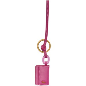 Jacquemus Pink Le Porte Cle Riviera Keychain