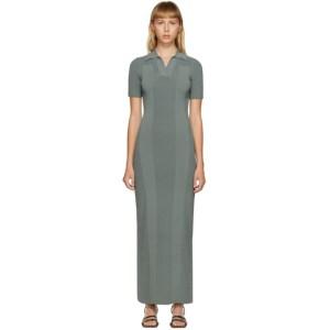 Jacquemus Green La Robe Maille Polo Dress