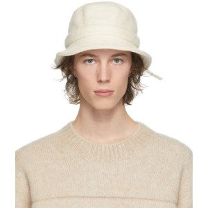 Jacquemus Off-White Le Bob Gadjo Bucket Hat