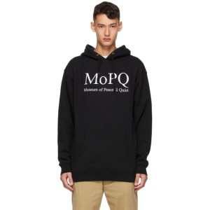 Museum of Peace and Quiet Black MoPQ Hoodie