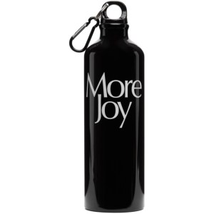 More Joy Black More Joy Water Bottle