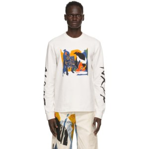 Bethany Williams White The Magpie Project Edition Graphic Long Sleeve T-Shirt