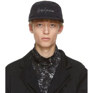 Yohji Yamamoto Black Gore-Tex® Logo Hat