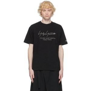 Yohji Yamamoto Black New Era Edition Address T-Shirt