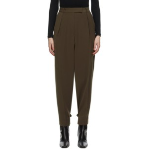 Blossom Brown El Tuck Trousers