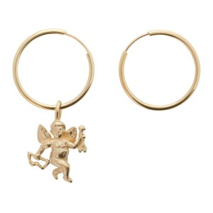 Georgia Kemball Gold Cupid Earrings